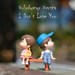 Volodymyr Versta - I Don't Love You